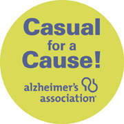 Casual for a Cause Sticker