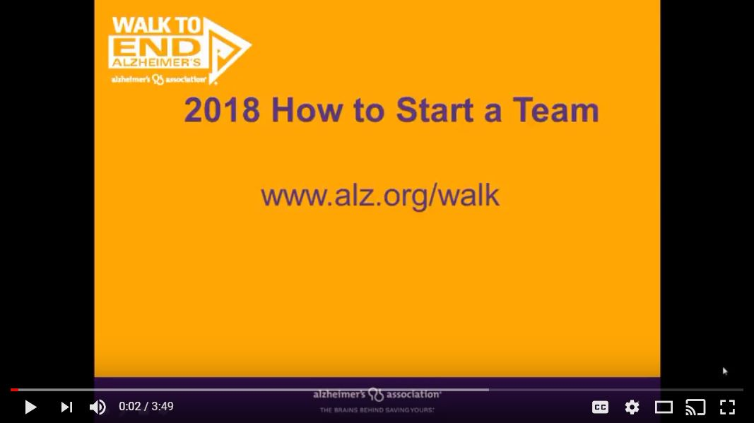 2018 How to Start a Team