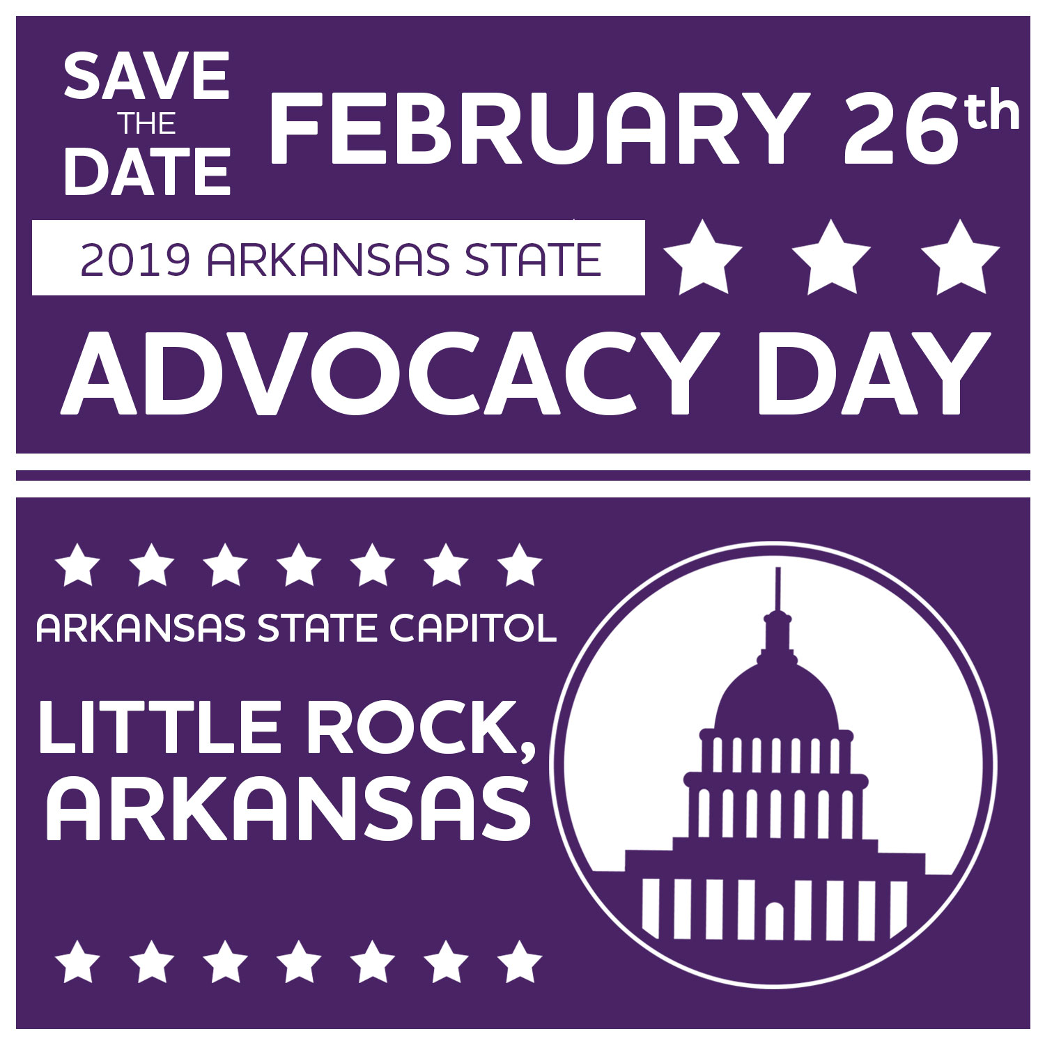 Arkansas Advocacy Day 2019