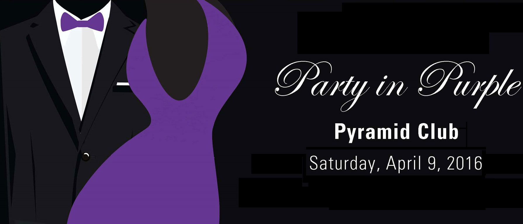 Party in Purple header