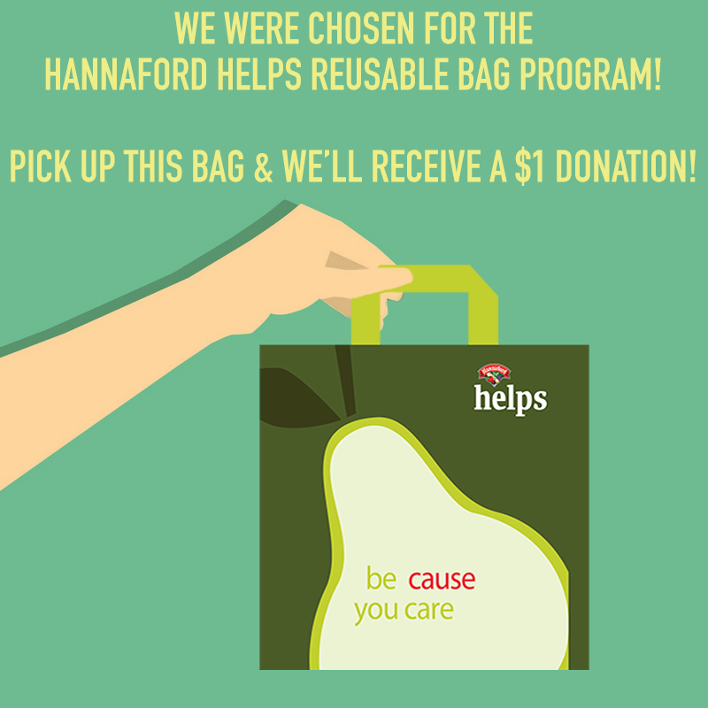 Hannaford Helps Reusable Bag Program VT 2018