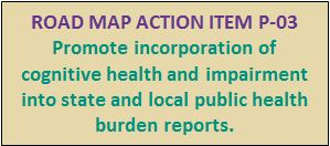 Public Health Road Map Action Item P-03