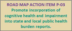 Public Health Road Map Action Item P-03