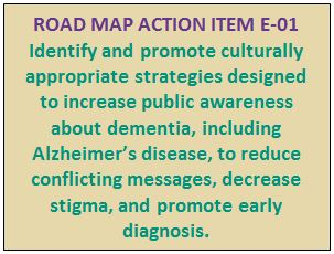 Road Map Action Item E-01