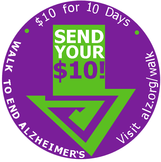 Send Your $10 Logo