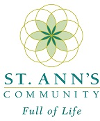 St. Ann's Logo Scroll