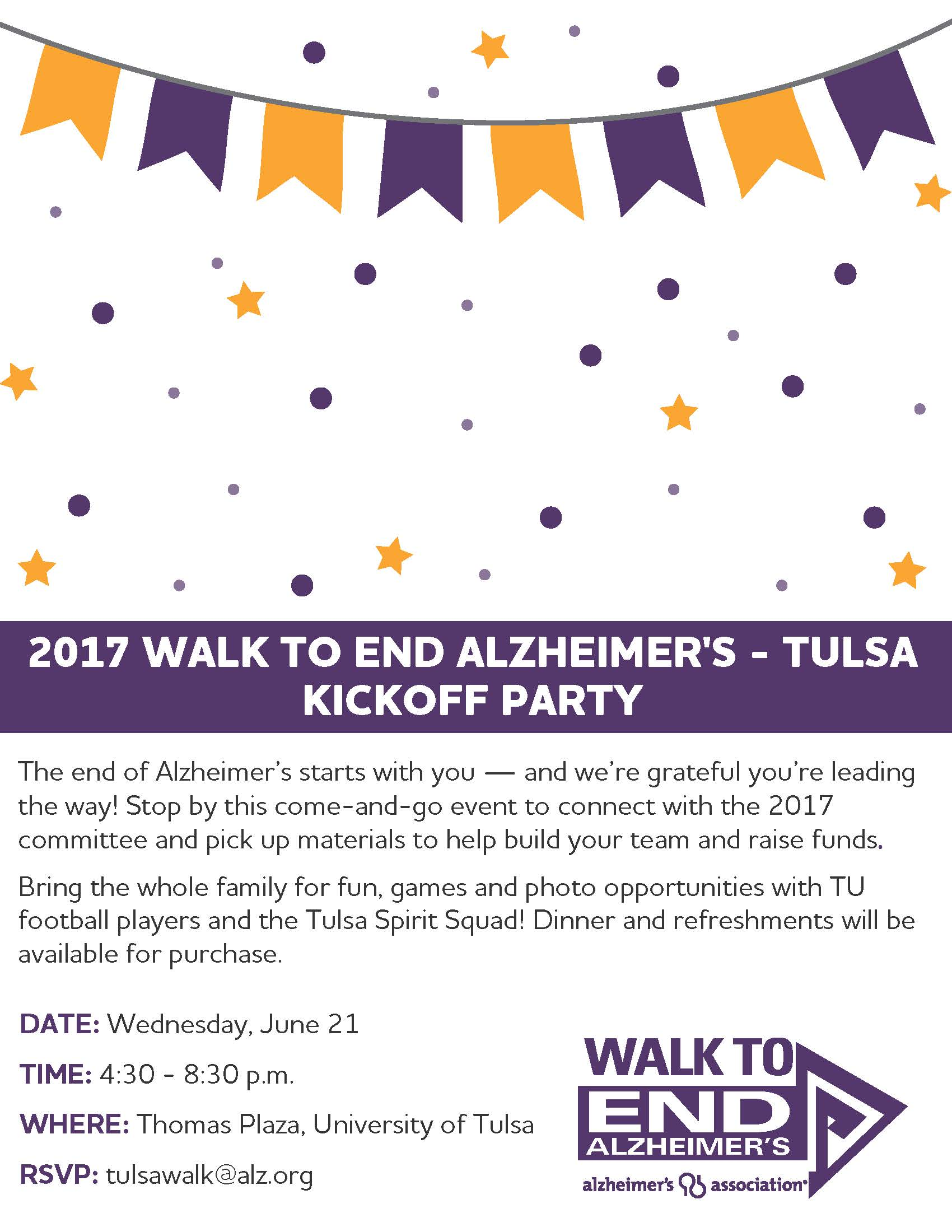 Tulsa Walk Kick-off 2