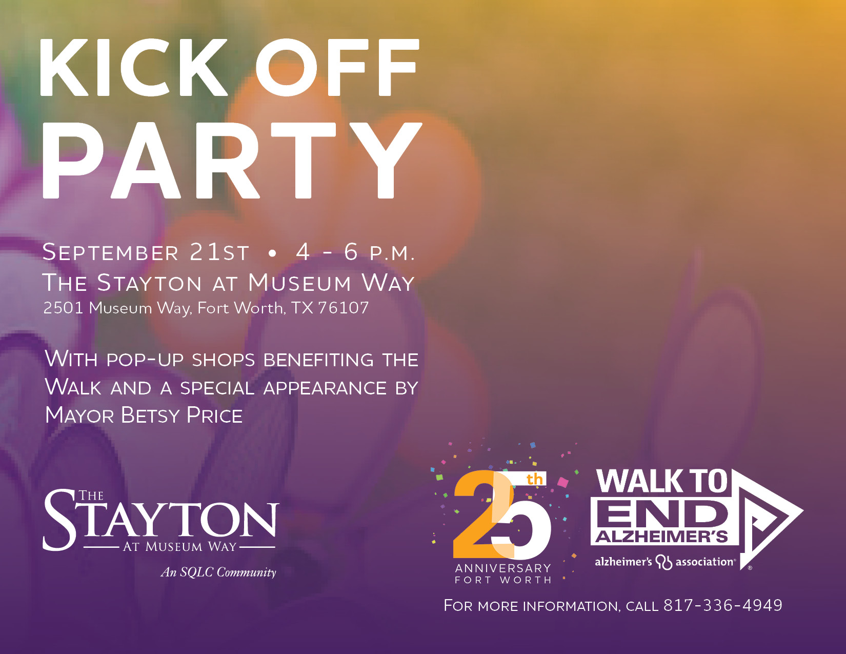 2017 FW Walk Kick-Off Party