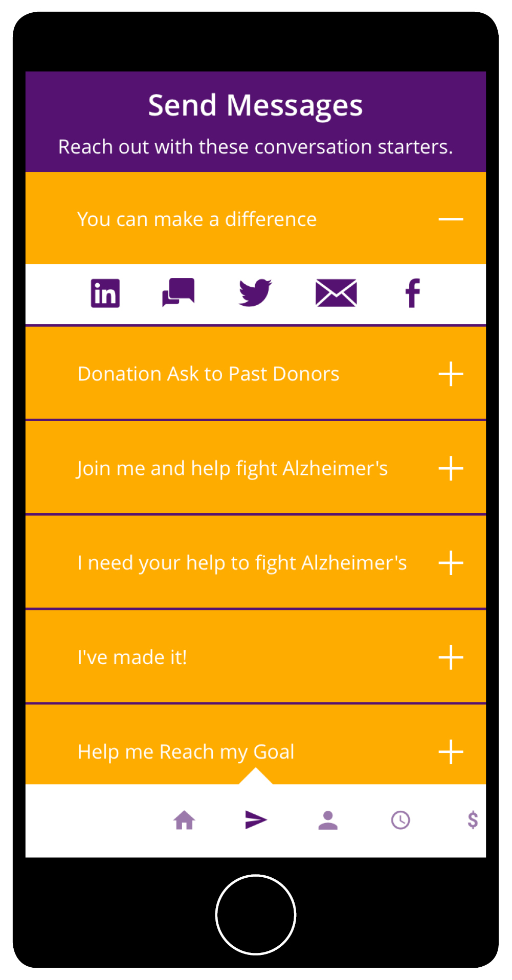 Alzheimer's Events App