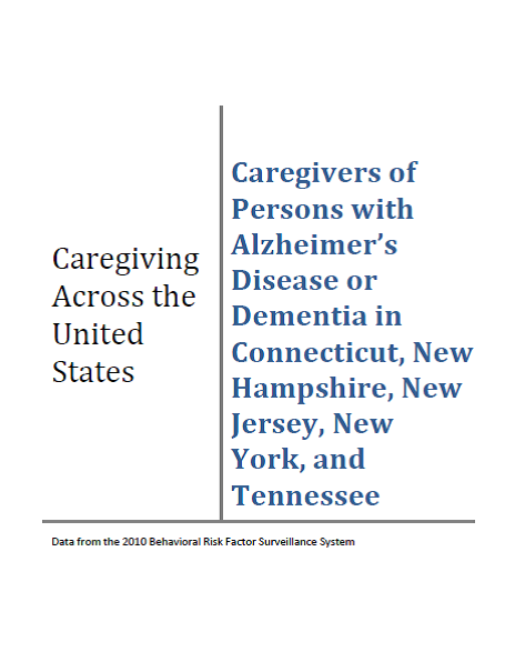 Caregiving Across the United States Report Cover