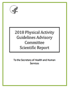 HHS Physical Activity Report Cover - Green border