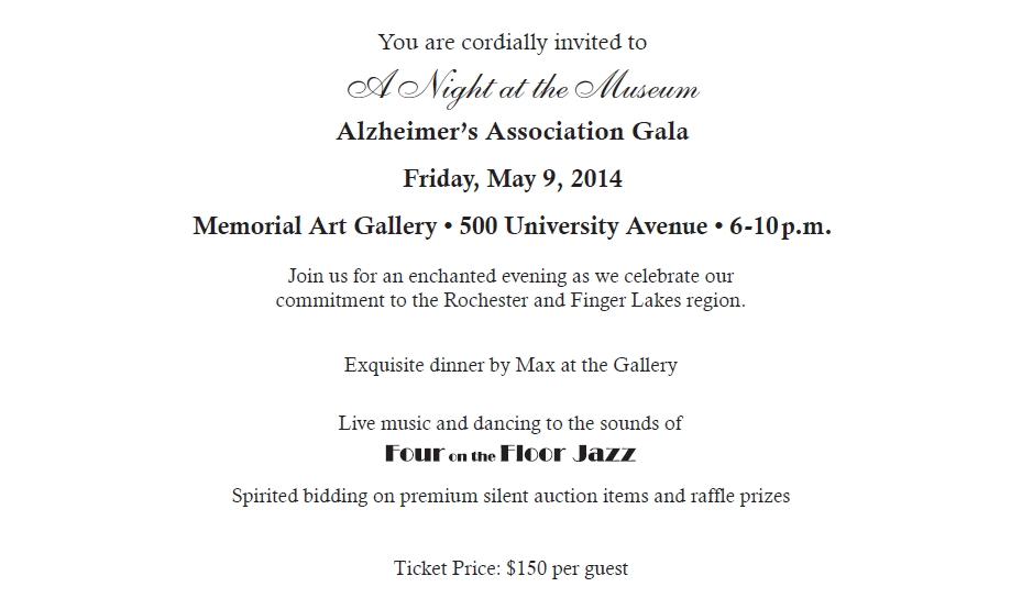 you are cordially invited to A Night at the Museum