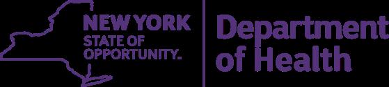 NY Dept of Public Health logo