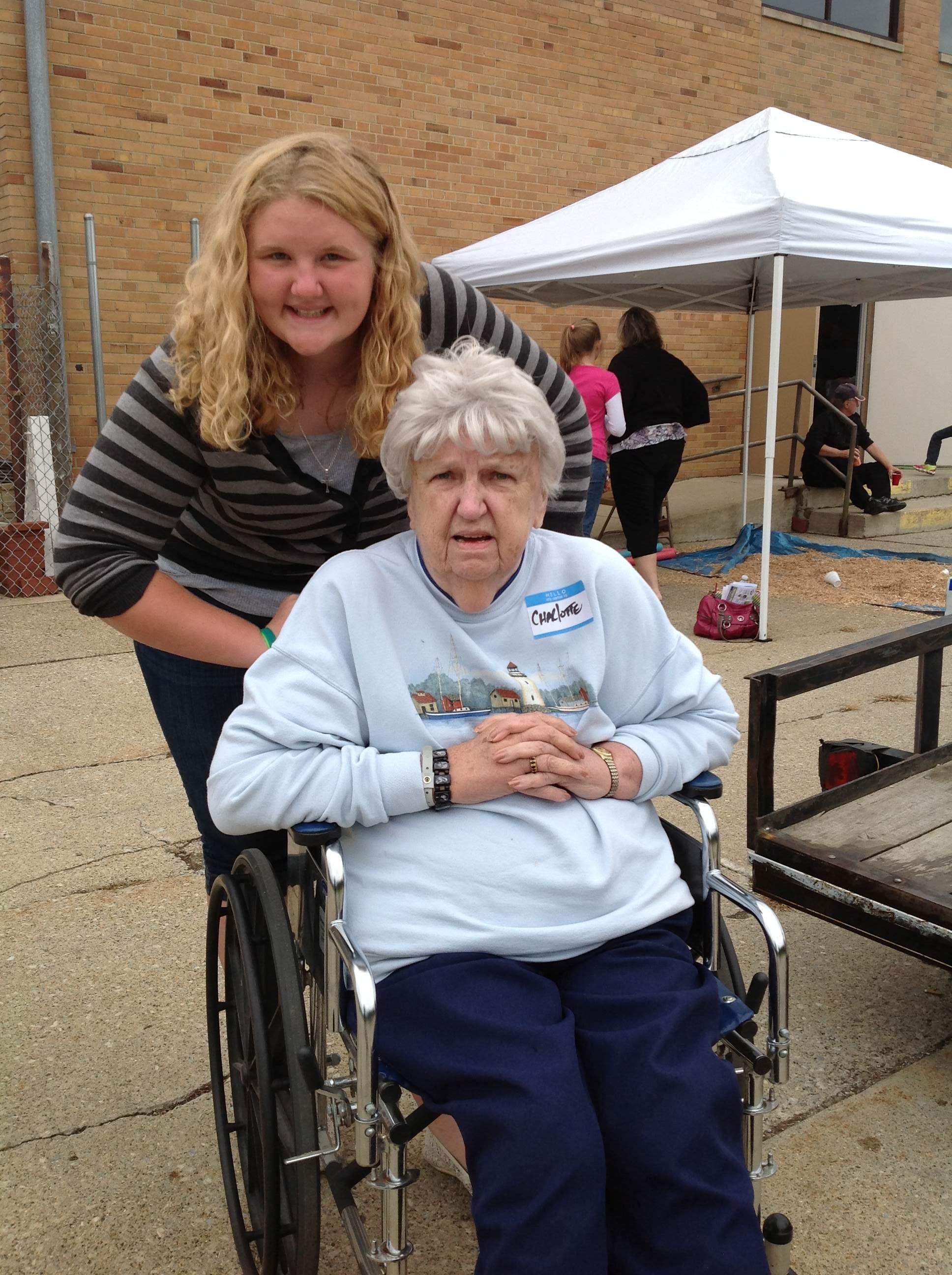 Renae Kempf and Grandmother