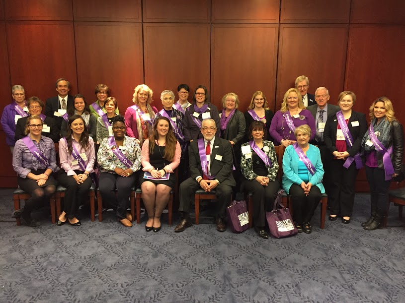 Ohio Alzheimer's advocates meeting with Senator Brown's office
