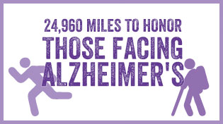 24,960 Miles To Honor Those Facing Alzheimer's