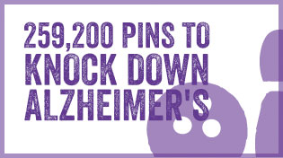 259,200 Pins To Knock Down Alzheimer's