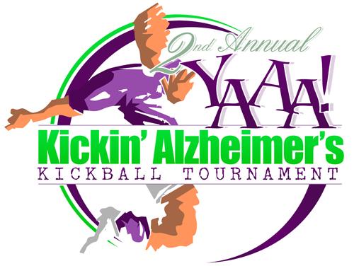 YAAA! Kickin' Alzheimer's logo