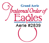 1. Grand Aerie Fraternal Order of Eagles (Presenting)