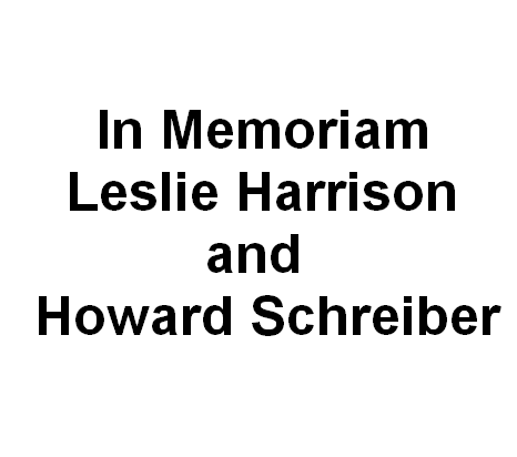 Kay Harrison in Memoriam