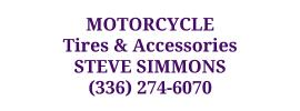 Motorcycle Tires & Accessories