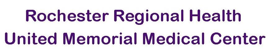 6. Rochester Regional Health United Memorial Medical Center (Local)