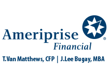 Ameriprise Financial: T Van Matthews CFP & J Lee Bugay CFP MBA (Carbon)