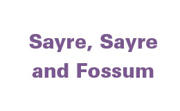 Sayre Sayre and Fossum TEXT