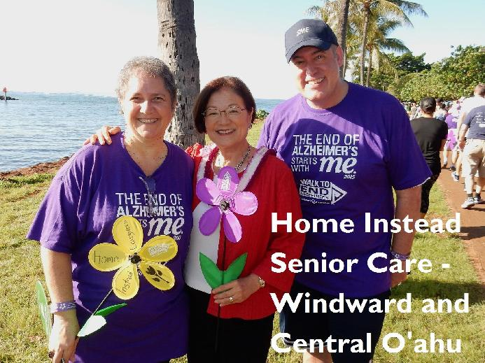 2019 Walk to End Alzheimer's - Oahu, HI: Home Instead Senior Care