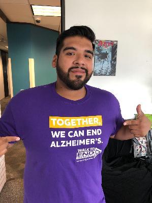 2019 Walk to End Alzheimer's - Houston, TX: Walking for Hope