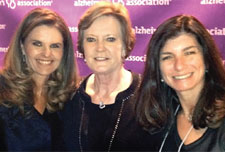 Maria Shriver, Coach Pat Summitt and Elizabeth Gelfand Stearns