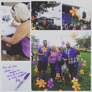 At the 2015 Chicago Walk to End Alzheimer's