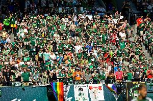 The Timbers Army Salute Jimmy Conway 2015