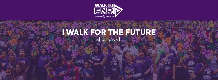 I walk for the future