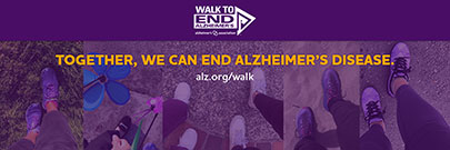 Together, we can end Alzheimer's disease (with walkers)
