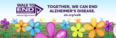 Together, we can end Alzheimer's disease (with flowers)