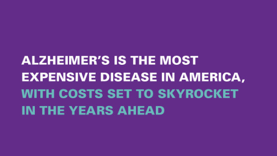 Alzheimers Cost to Skyrocket Graphic