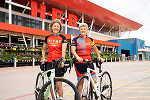 Ride to End Alzheimer's with HEB