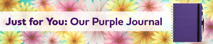 Just for You: Our Purple Journal