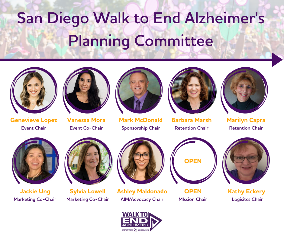 2020 San Diego Walk Planning Committee