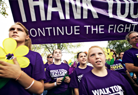 Thank You WALK Continue Fight