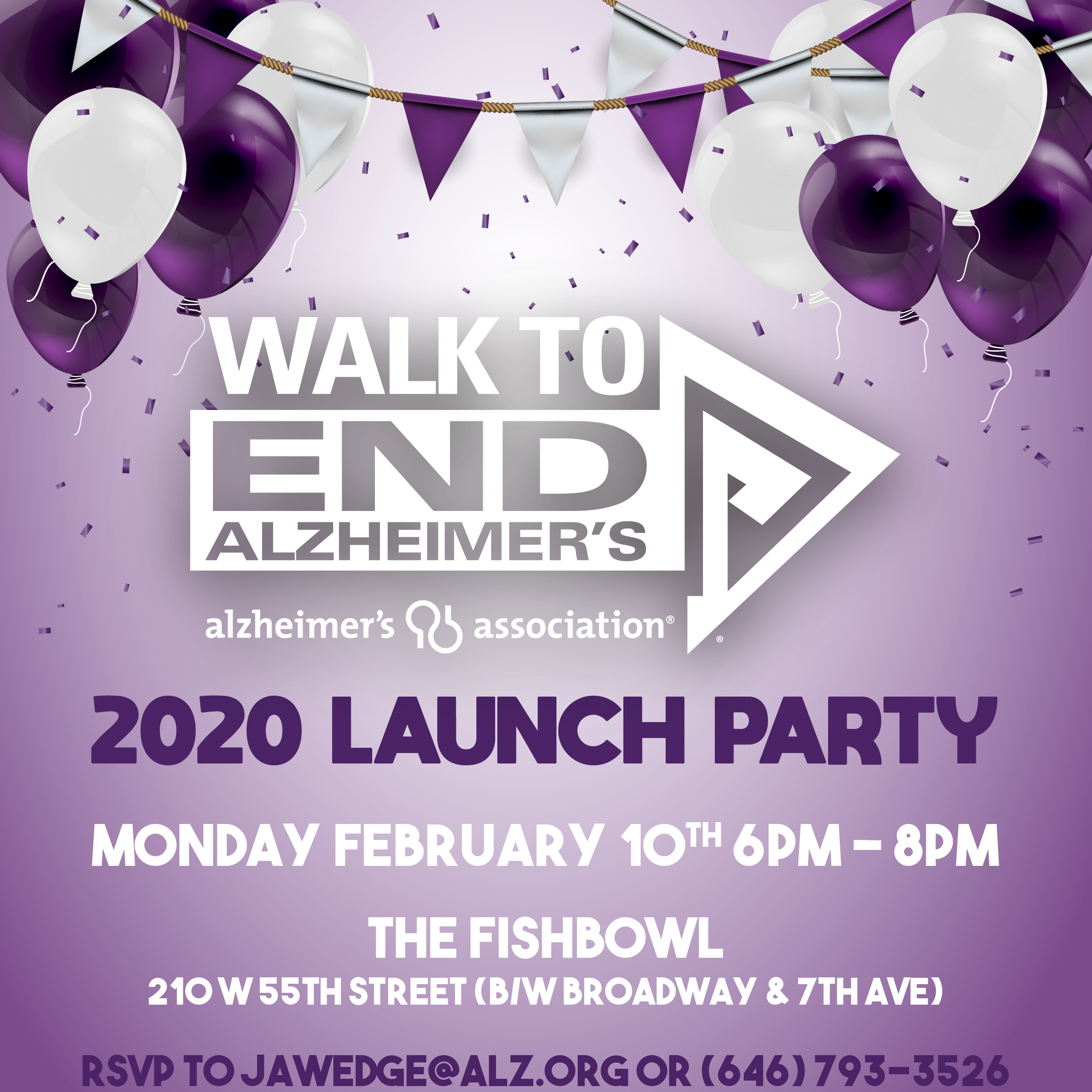 2020 Walk Launch Party
