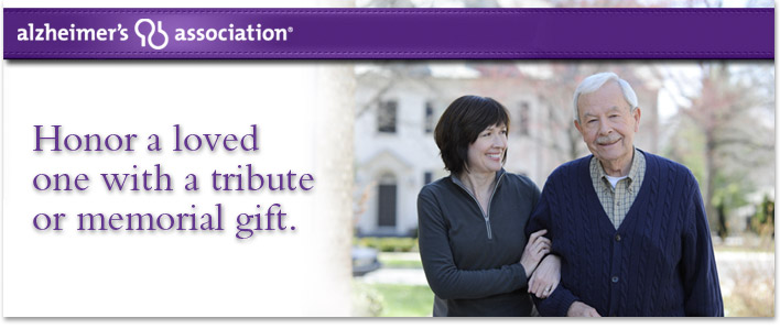 Honor a loved one with a tribute or memorial gift