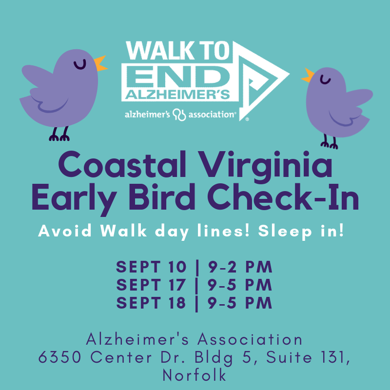 2019 CoVA Early Bird Check-In