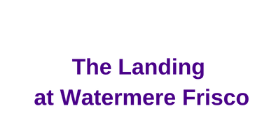 .065 The Landing at Watermere Frisco (Bronze)