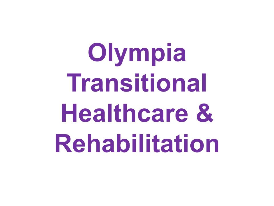 E. Olympia Transitional Healthcare & Rehabilitation (Silver)