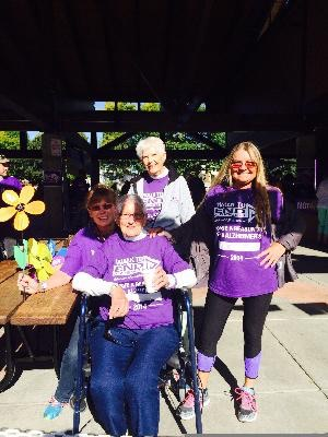 JOIN Team Janice Carr for THE WALK TO END ALZHEIMERS