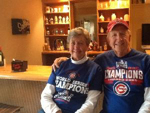 Hoping the Cubs will come back with a win again this year!  We would like to repeat, too, and we need your help.