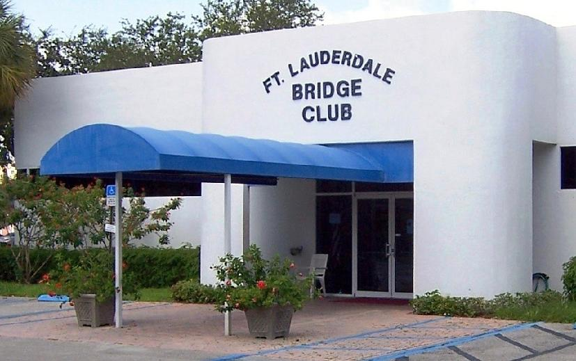 Home of Ft. Lauderdale Bridge Club  and Quick Tricks (DB) Club
