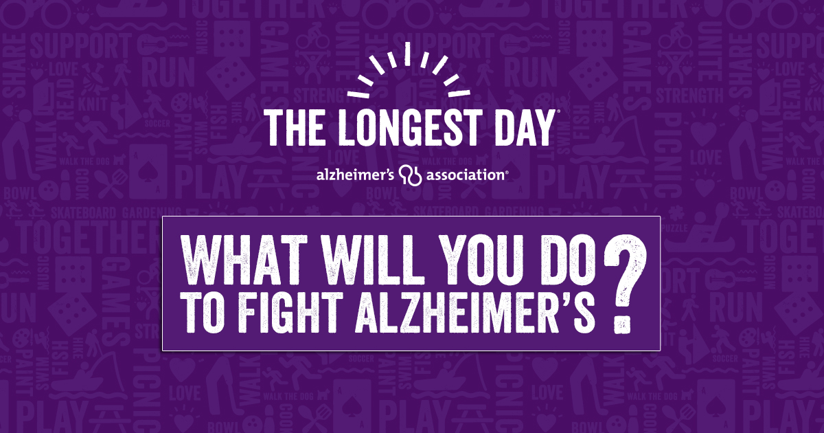 The Longest Day - Help Fight Alzheimer's on June 21, 2018